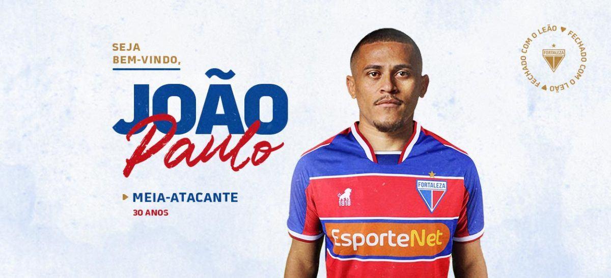 Fortaleza Esporte Clube oficializa a contratação do meia João Paulo